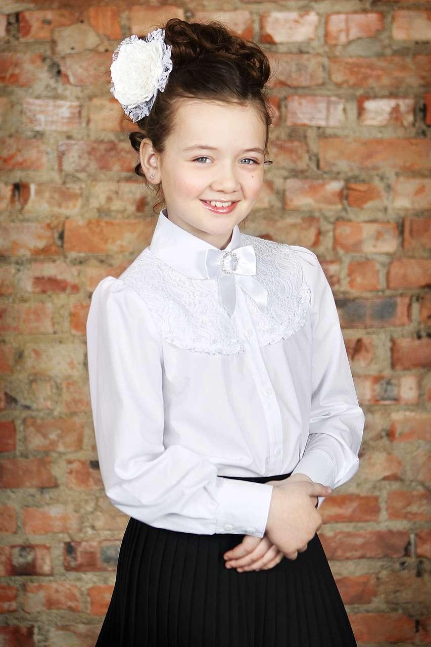 Купить Белые Блузки Для Школы