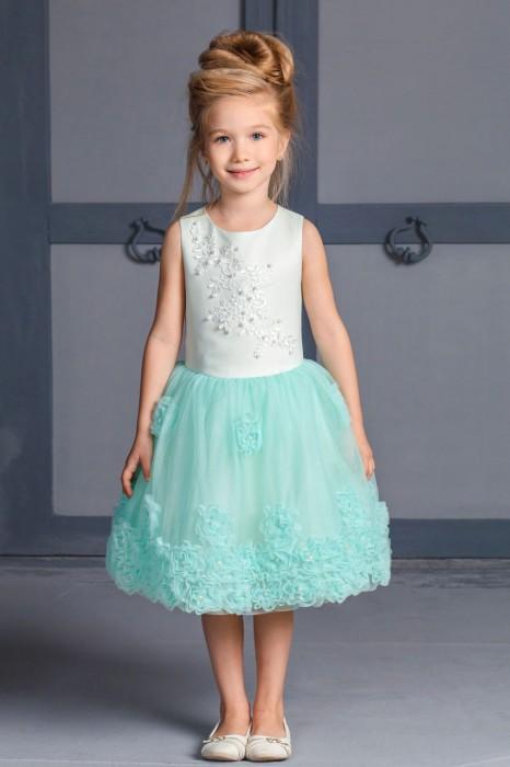 Нарядное красивое платье для девочки Мари Текс