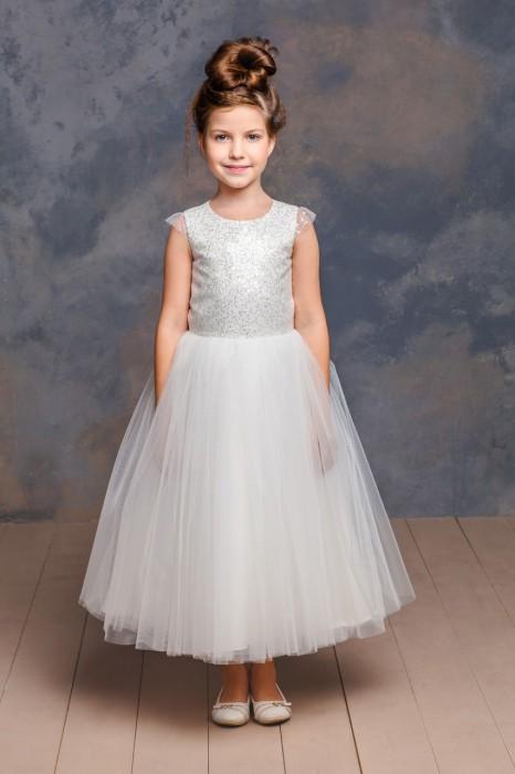 Шикарное платье для девочки Мари Текс