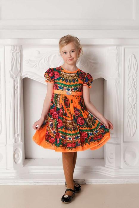 Платье оригинальное детское