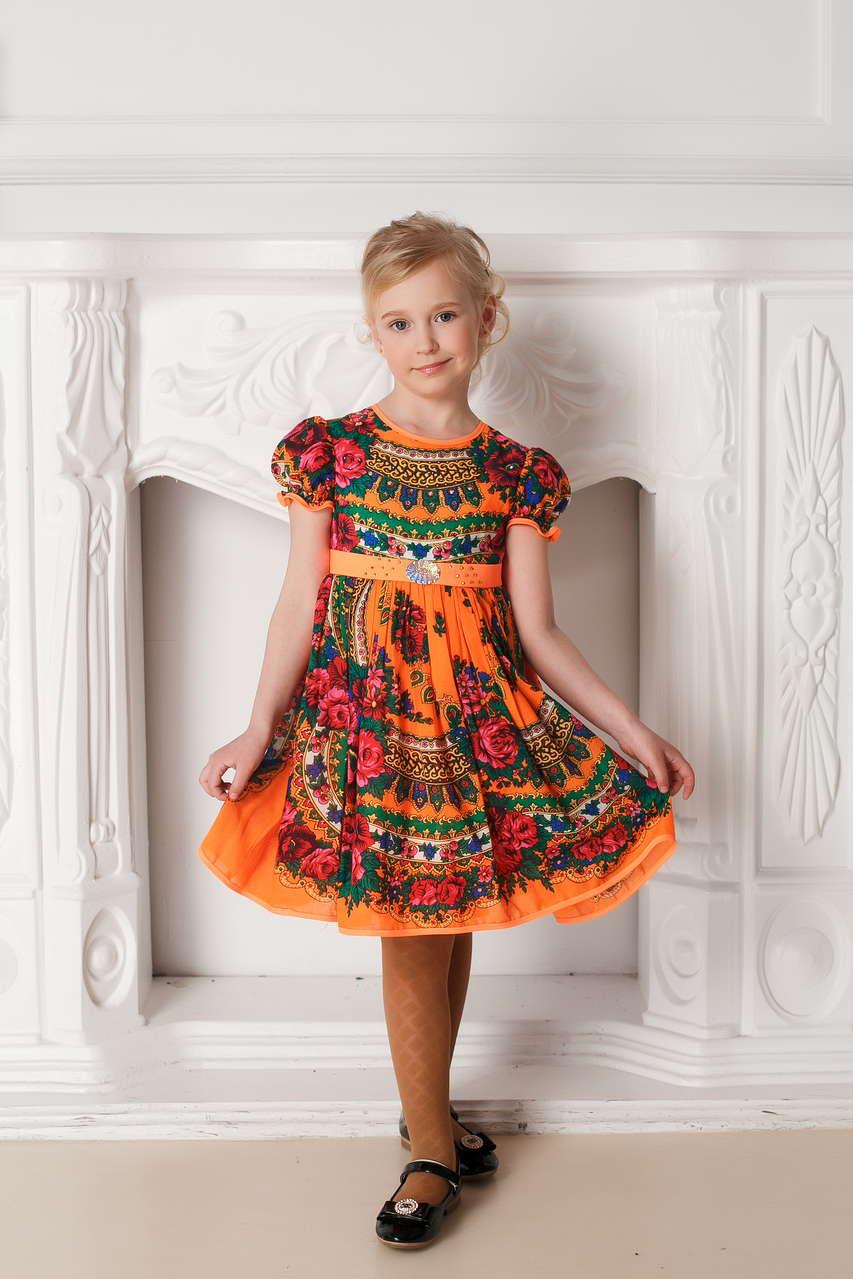 Платья для девочек 11