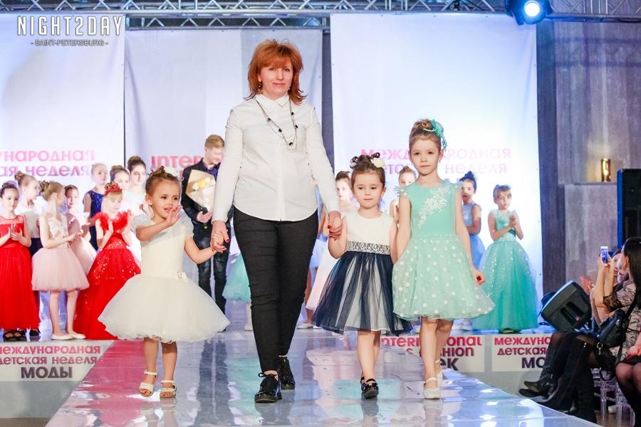 Мари Текс на детской неделе моды!