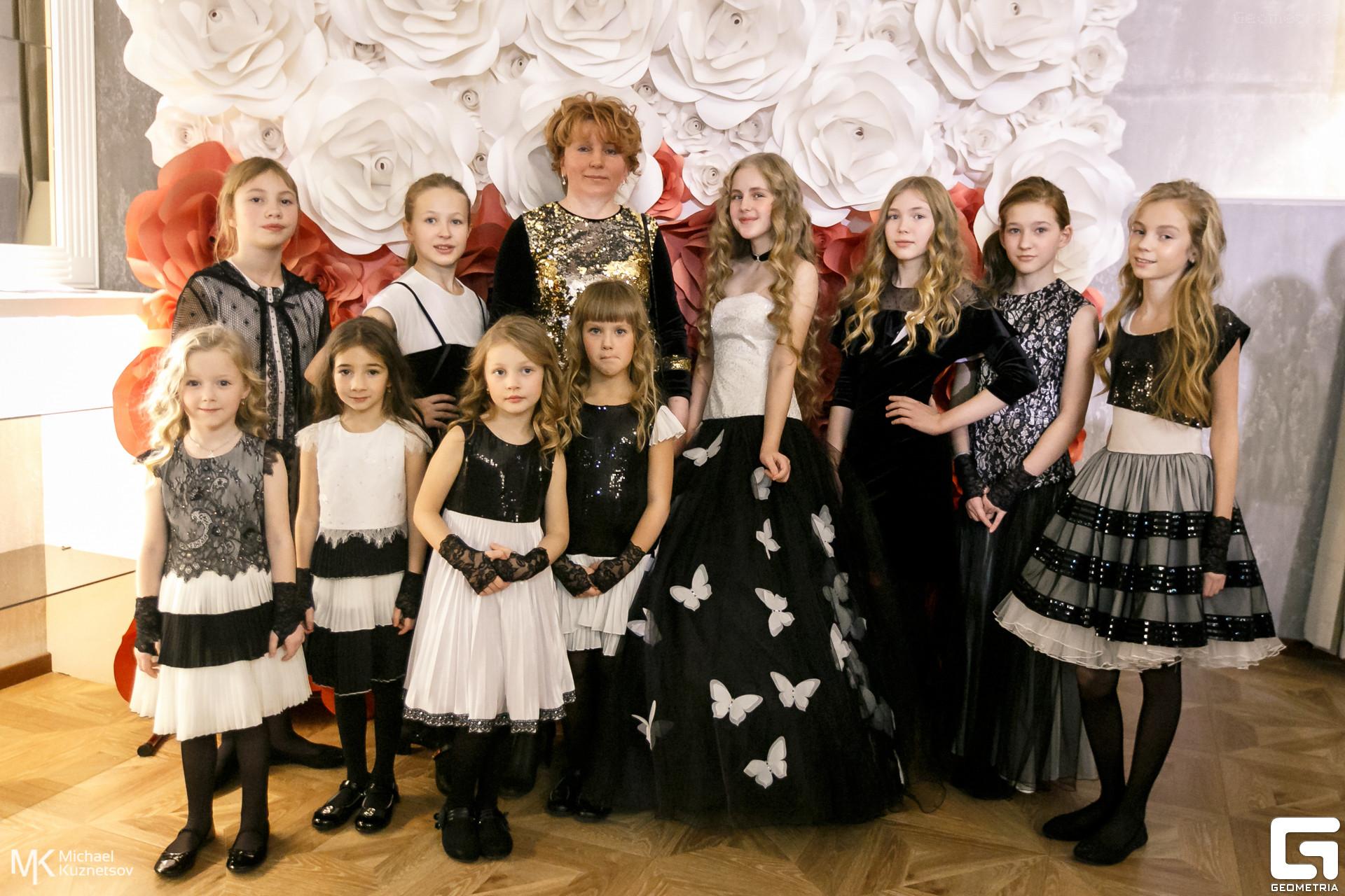 Мари Текс показ детский платьев